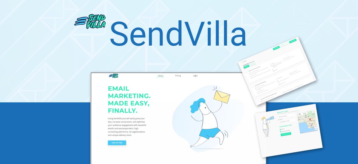 sendvilla lifetime deal