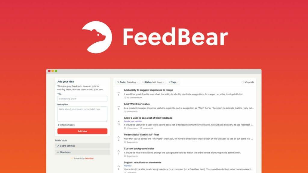 feedbear lifetime deal