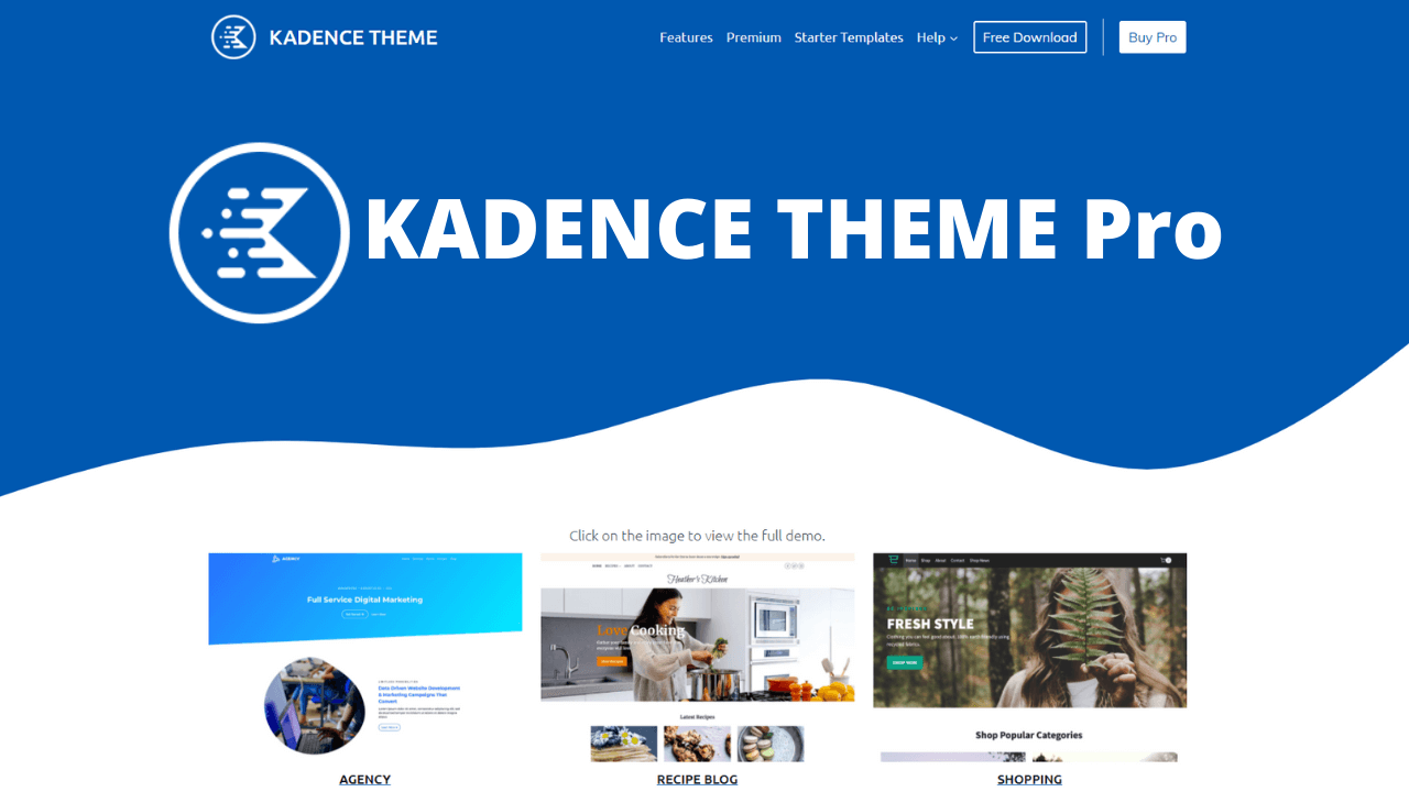kaden theme pro lifetime deal 1